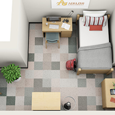Room Types And Features About Our Halls Office Residential Life Housing Adelphi